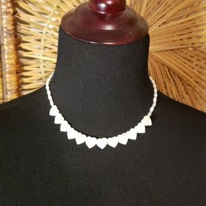 Jewelry - Mother of Pearl Heart necklace